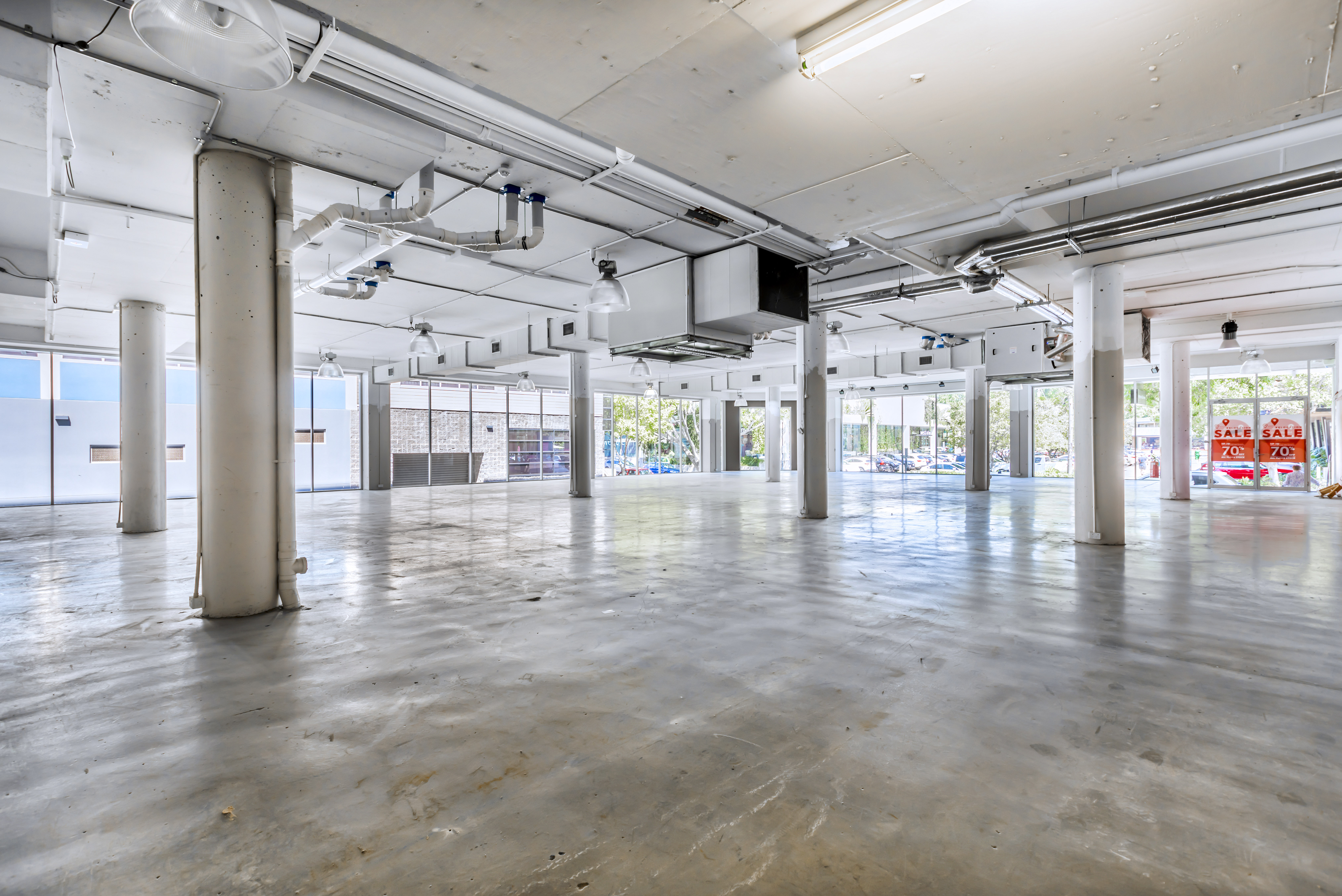 Fortitude Valley commercial retail tenancies in James Street Precinct - Brisbane property real estate agency - Retail showroom next to James Street Markets, West Elm, Pottery Barn, Ada Lane, The Calile Hotel