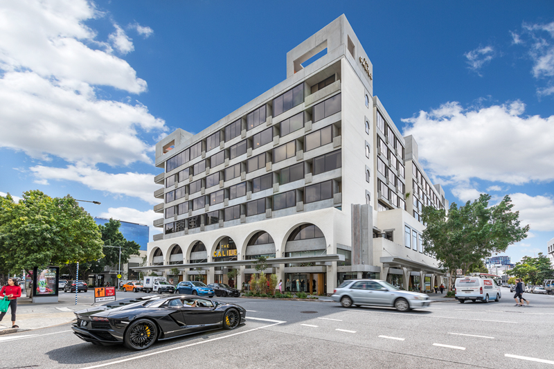 The Calile Hotel, James Street, Fortitude Valley commercial retail for lease