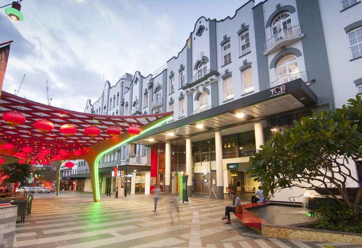 TCB Building, Fortitude Valley commercial retail for lease