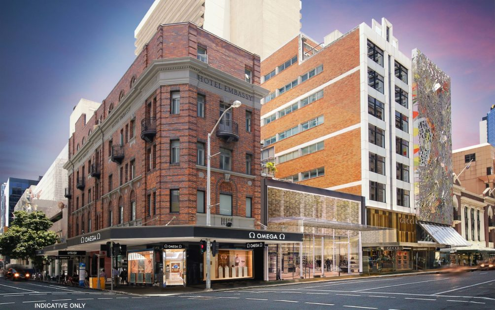 Edward Street luxury commercial retail for lease, Brisbane City