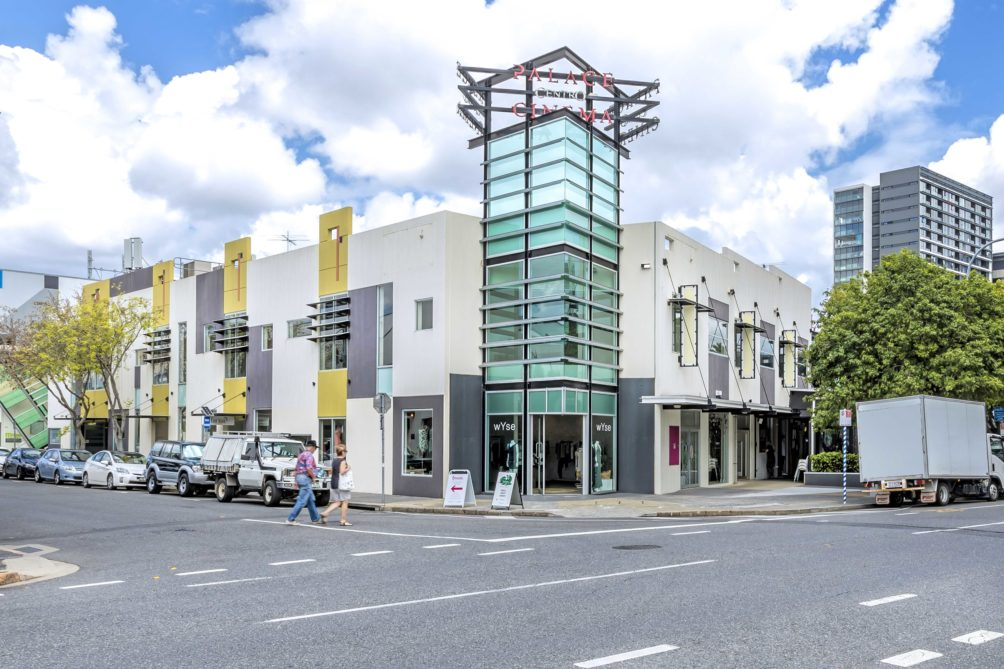 James Street commercial retail for lease, Fortitude Valley