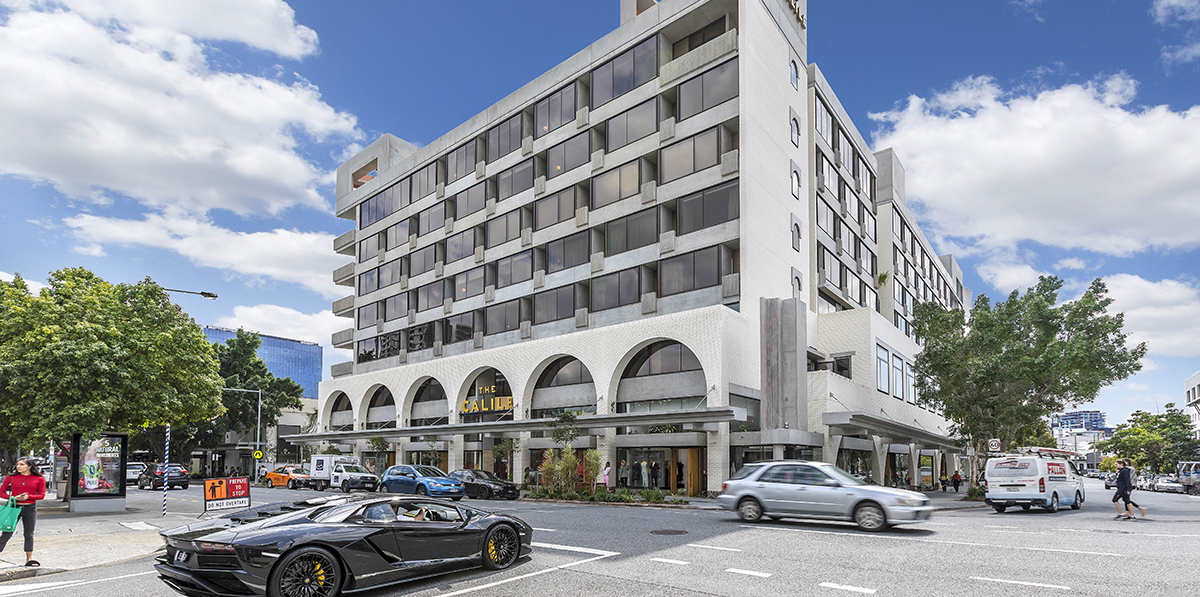 The Calile Hotel, James Street commercial retail for lease, Fortitude Valley