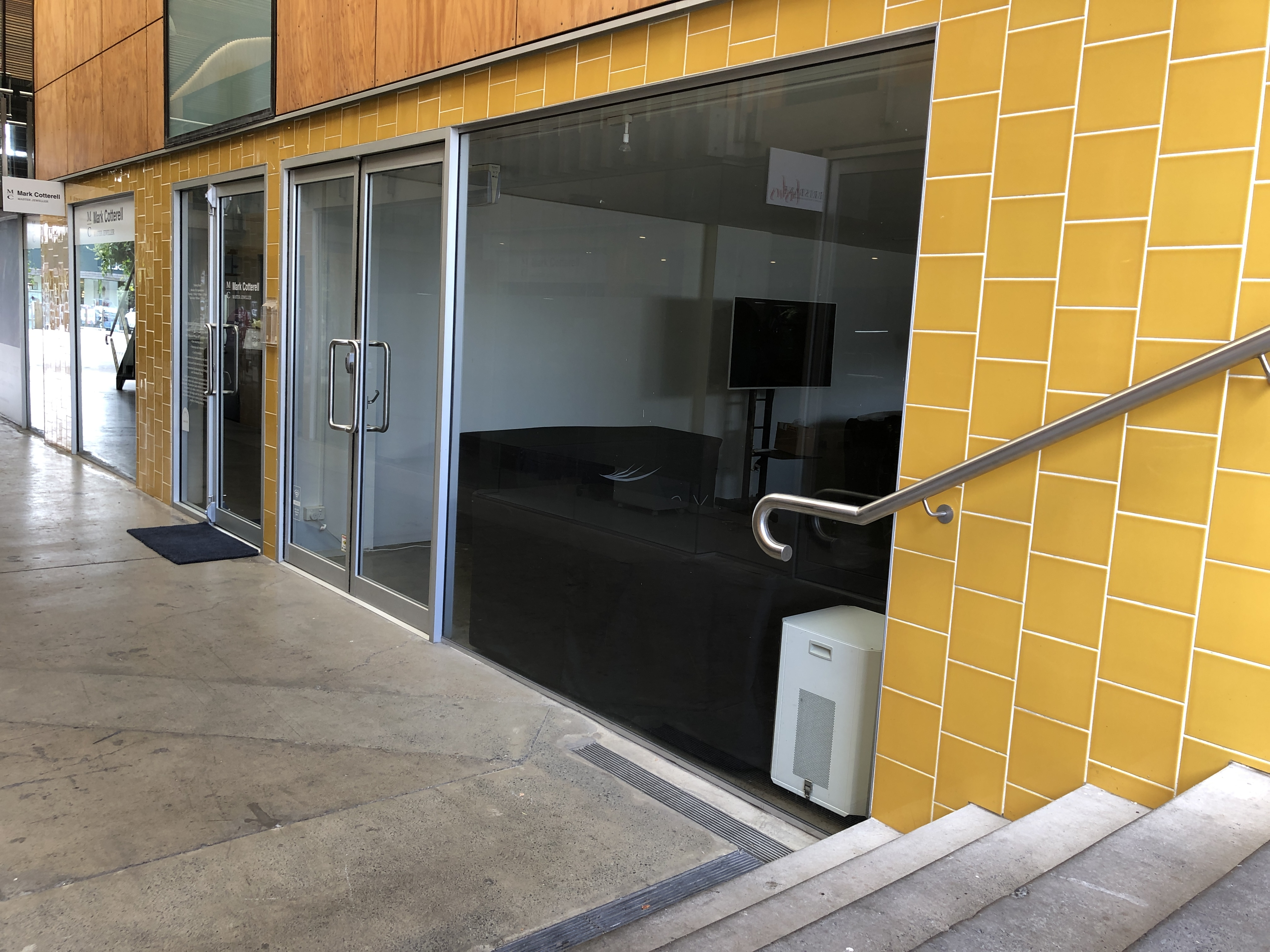 James Lane commercial retail for lease on James Street, Fortitude Valley