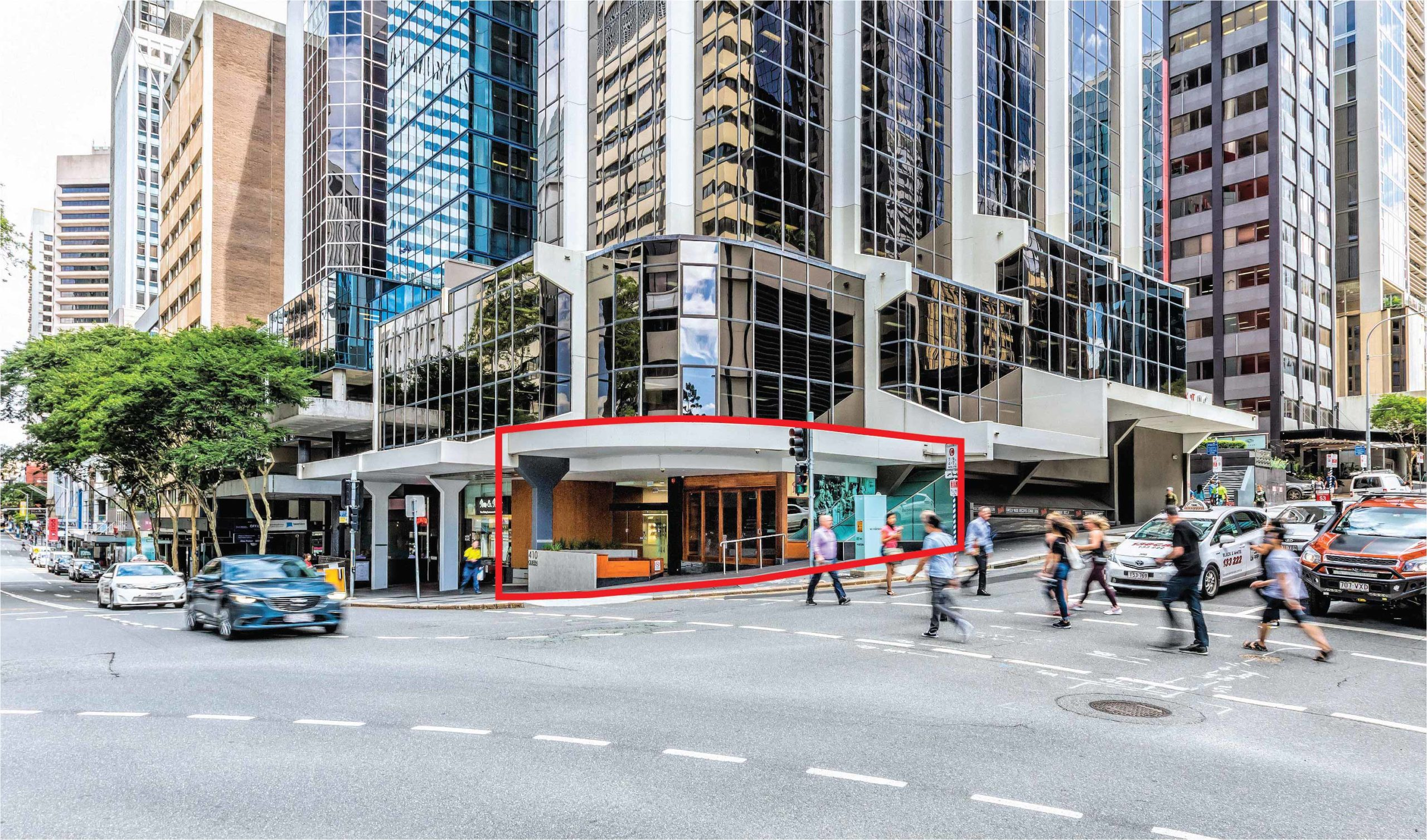 Retail for lease 410 Queen Street, Brisbane CBD
